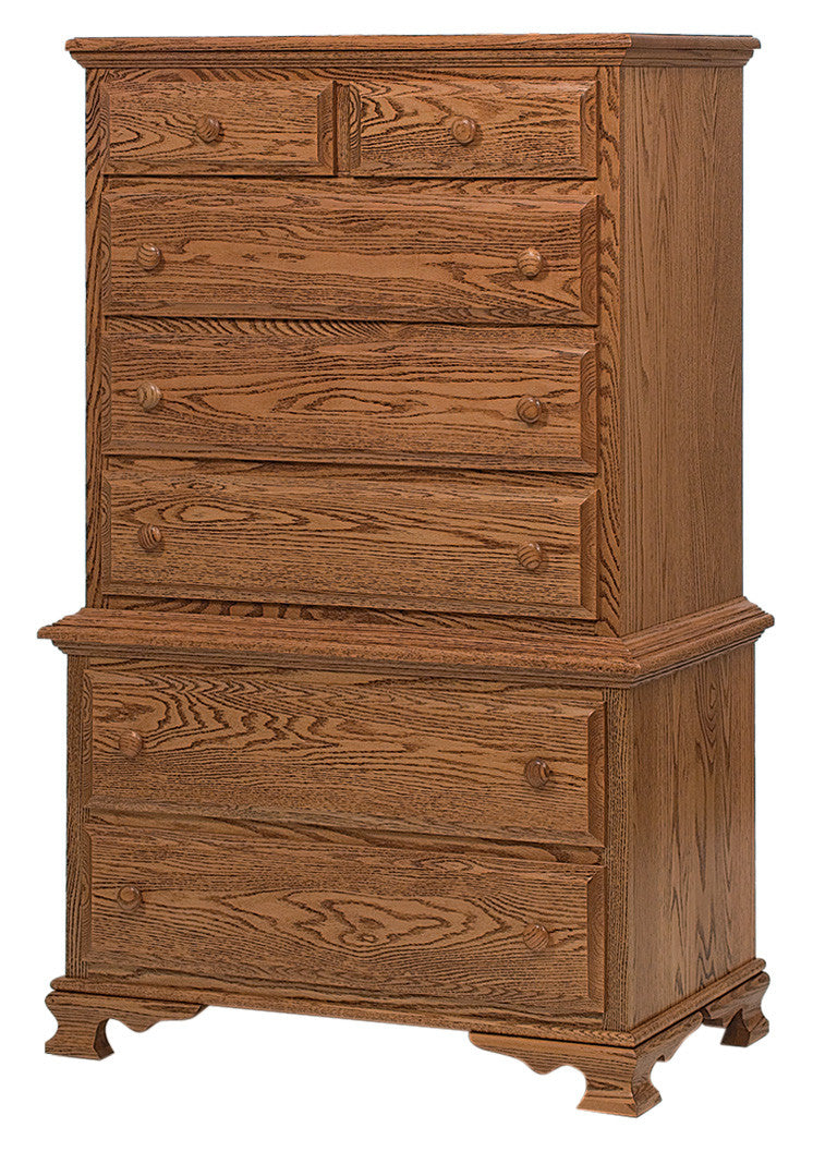 Heritage Chest on Chest, 7 Drawers (2 pc.)