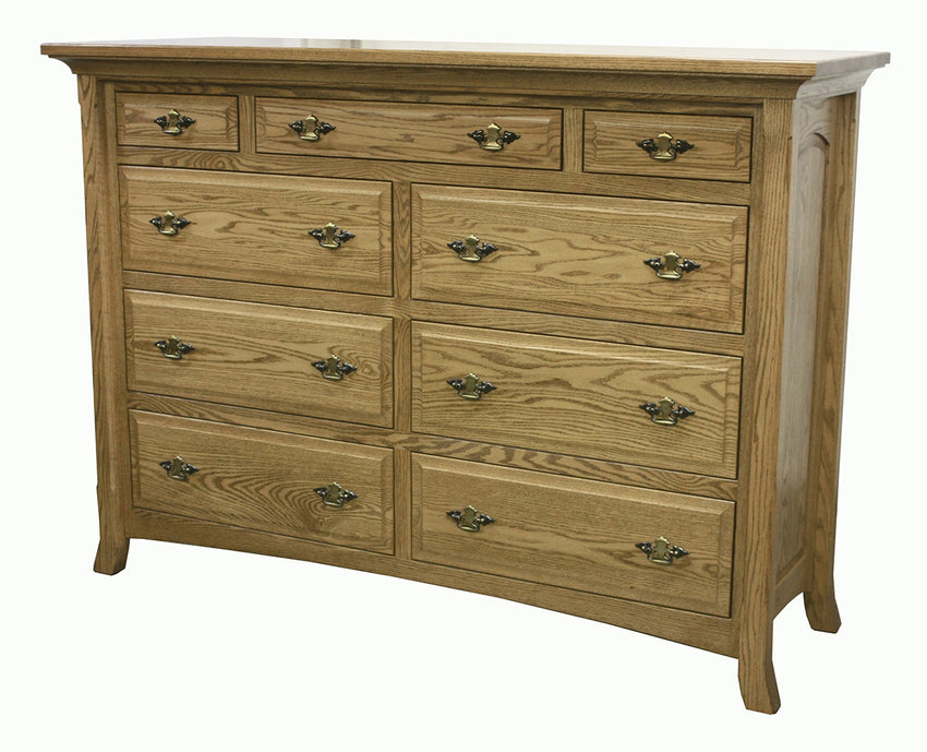 Homestaed 9 Drawer Mule Dresser
