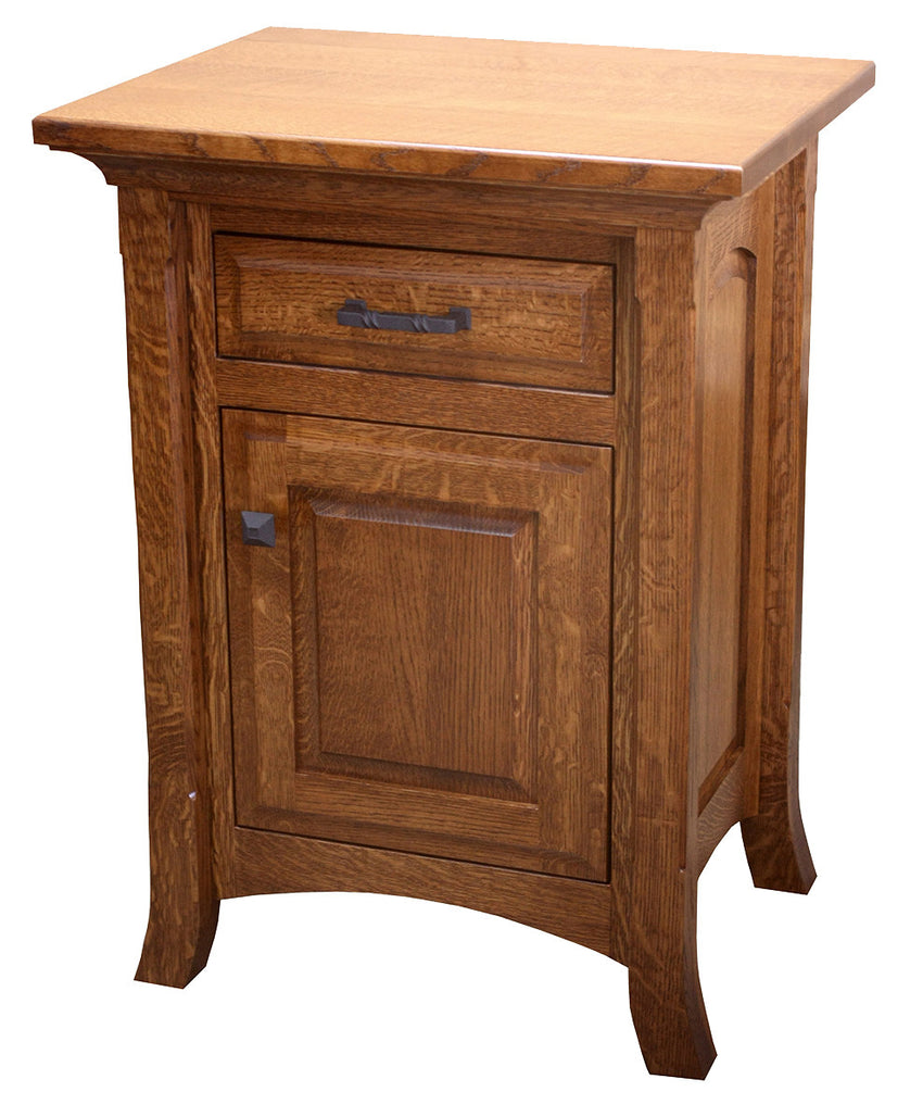 Homestead 1 Drawer 1 Door Nite Stand