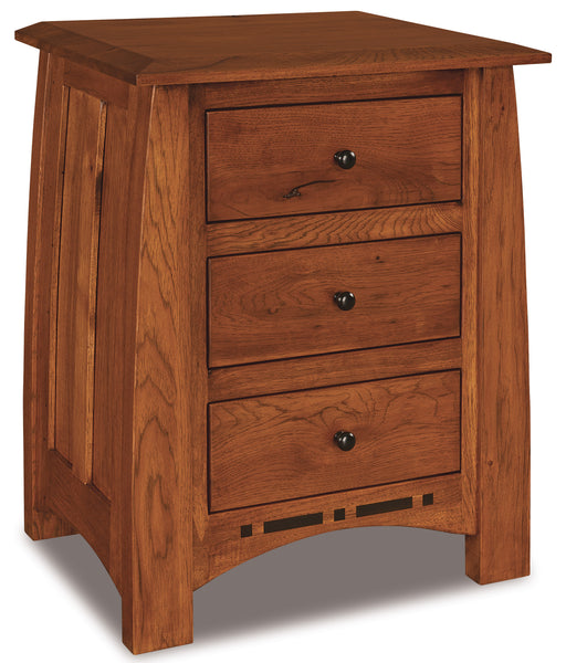 Boulder Creek 3 Drawer Nightstands