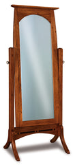 Boulder Creek Beveled Cheval and Jewelry Mirrors