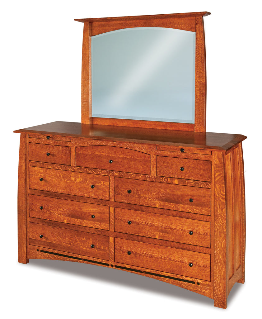 Boulder Creek 9 Drawer Dresser w/ Jewelry Drawer