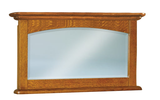 Carlisle Beveled Arched Crown His & Hers Chest Mirror