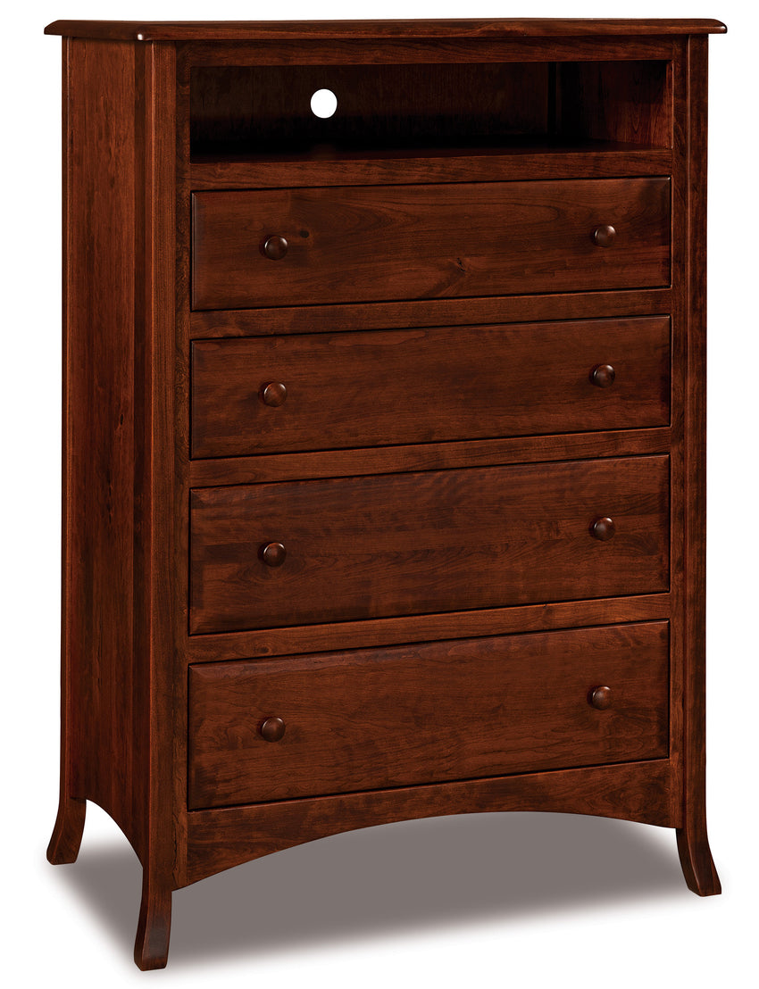 Carlisle 4 Drawer Media Chests