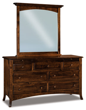 Carlisle Beveled Arch Crown Mirrors