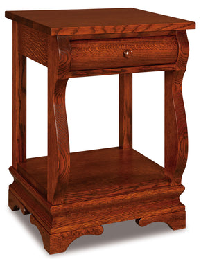 Chippewa Sleigh Open Nightstands