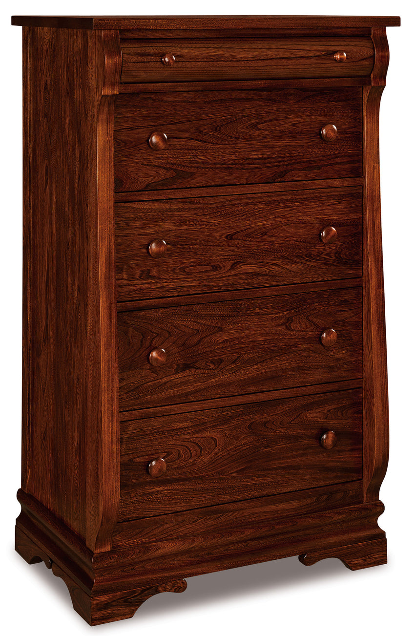 Chippewa Sleigh 5 Drawer Chest