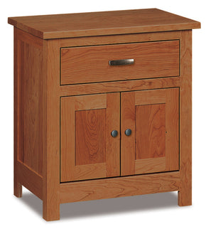 Flush Mission Door and Drawer Nightstands