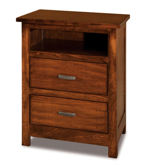 Flush Mission Open Nightstands
