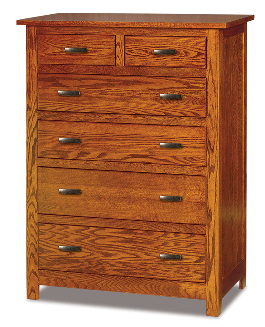 Flush Mission 6 Drawer Chest