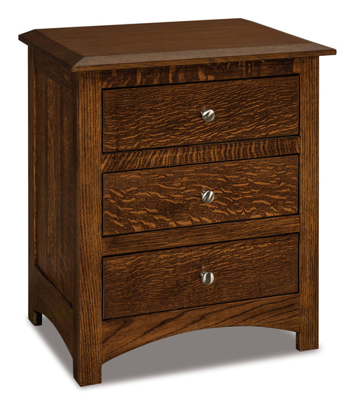 Finland 3 Drawer Nightstands