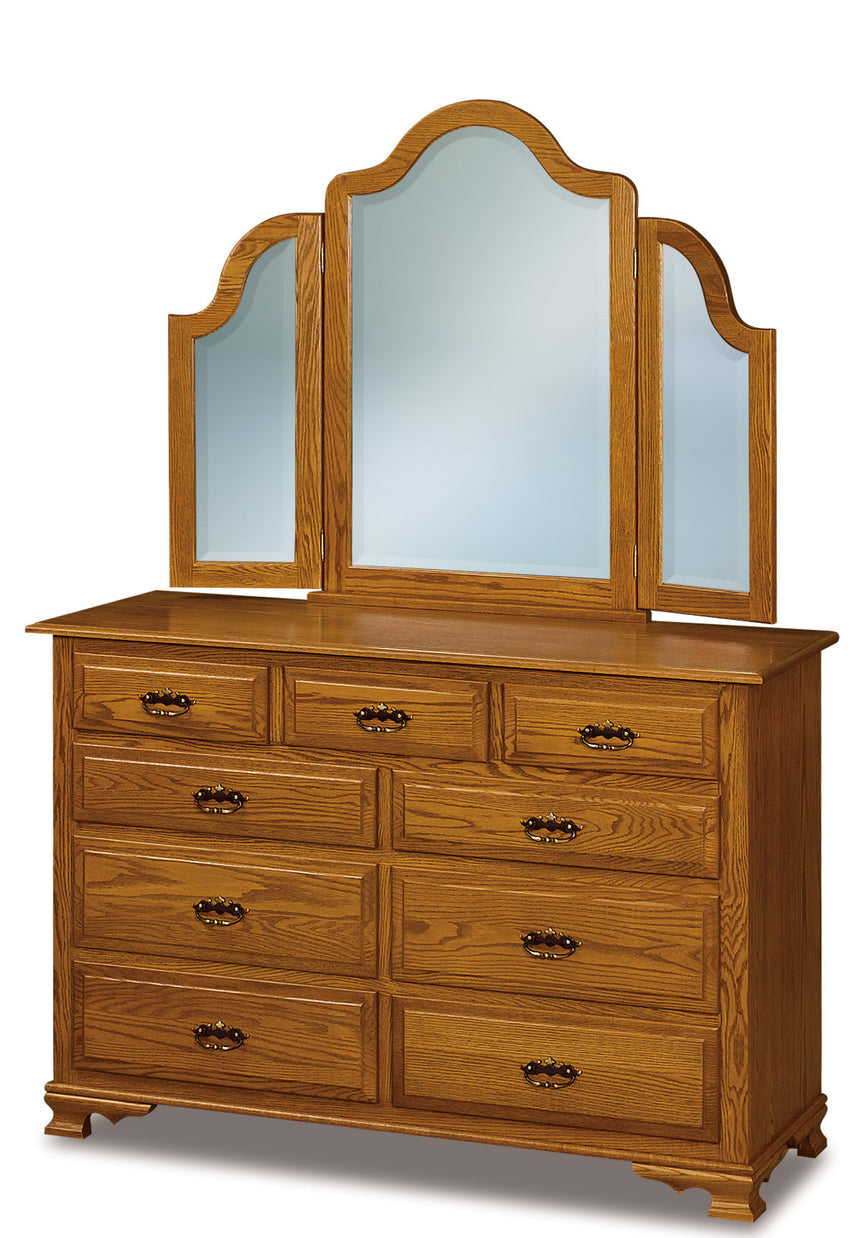 Hoosier Heritage 9 Drawer Dresser