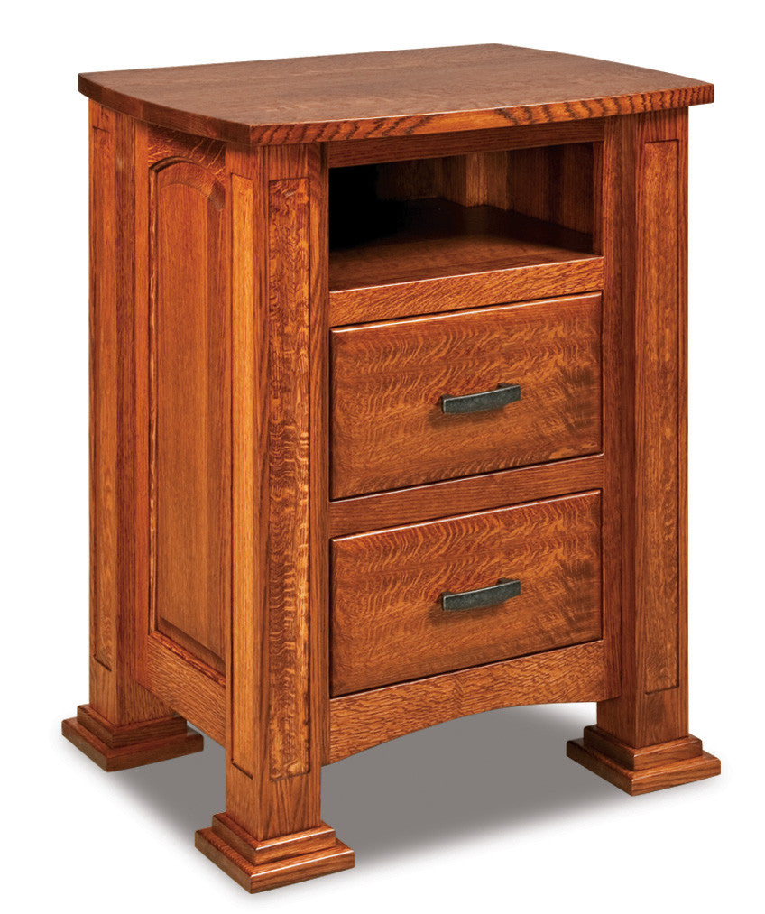 Lexington 2 Drawer Nightstand w/Opening