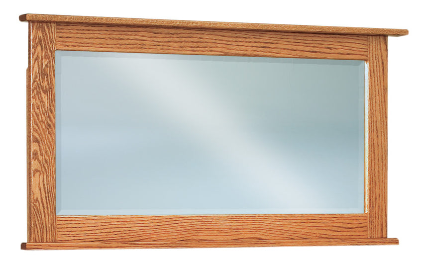 Shaker Beveled Square Shaker Chest Mirror