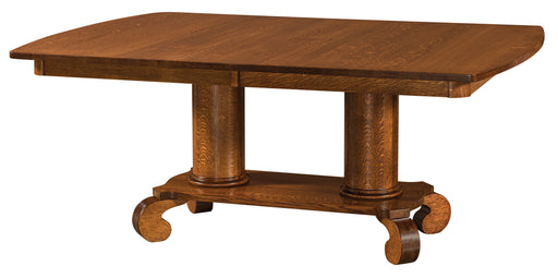 Jefferson Double Pedestal Table (IH)