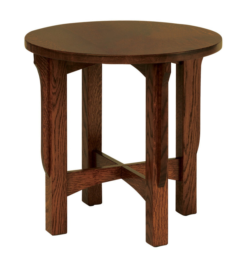 Landmark Round End Table without Drawer