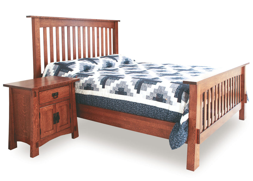 Modesto Slat Bed (STR)