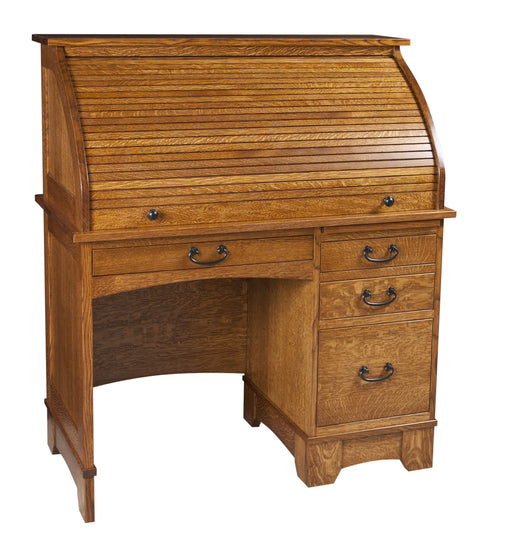 "42"" Noble Mission Rolltop Desk"