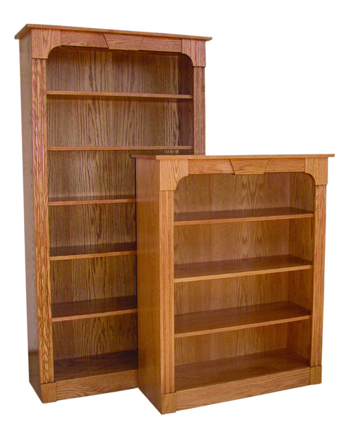 Northport Bookcase with Flat Sides