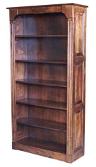 "72"" Northport Bookcase with Raised Panel Sides"
