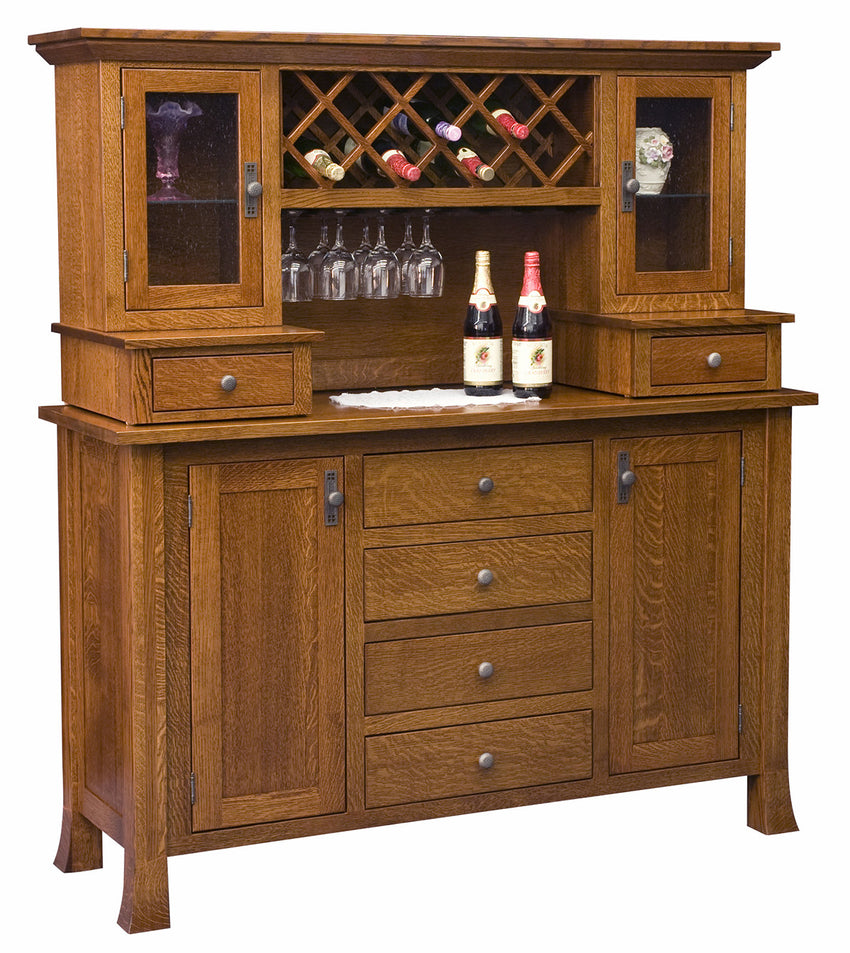 Old Century Wine Buffet w/Hutch