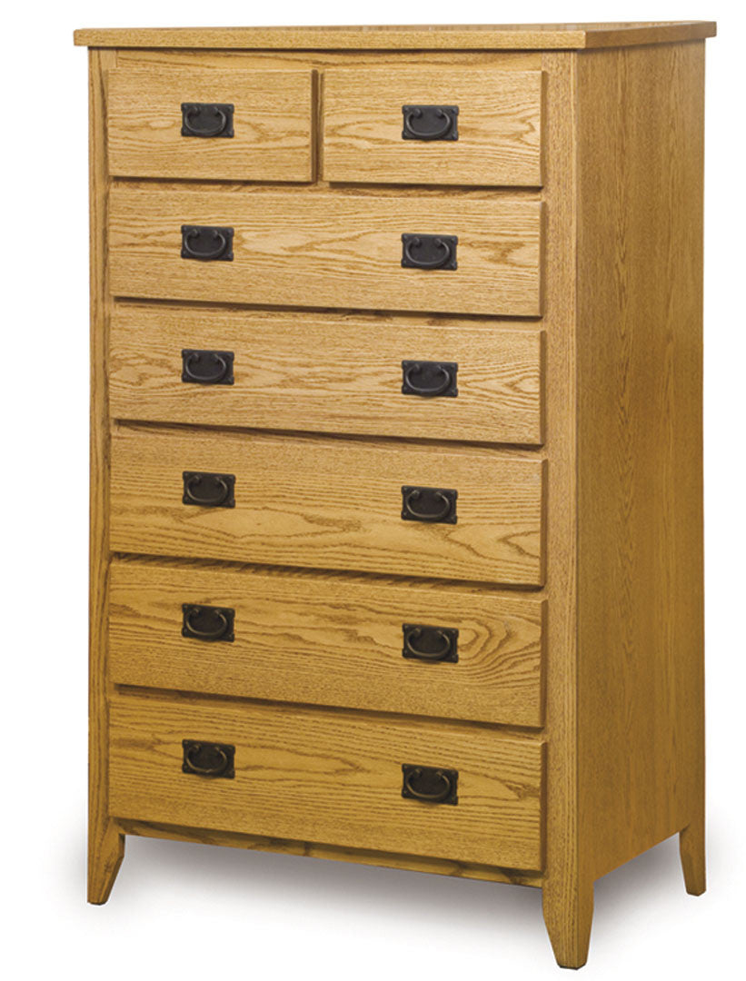 Ridgecrest Mission 7 Drawer Chest of Drawers