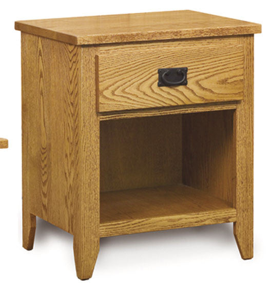 Ridgecrest Mission Nightstand, 1 drawer