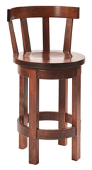 Barrel Barstool with Meribeth Tops