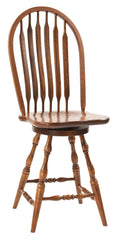 Bent Paddle (Deep Scoop) Swivel Barstool