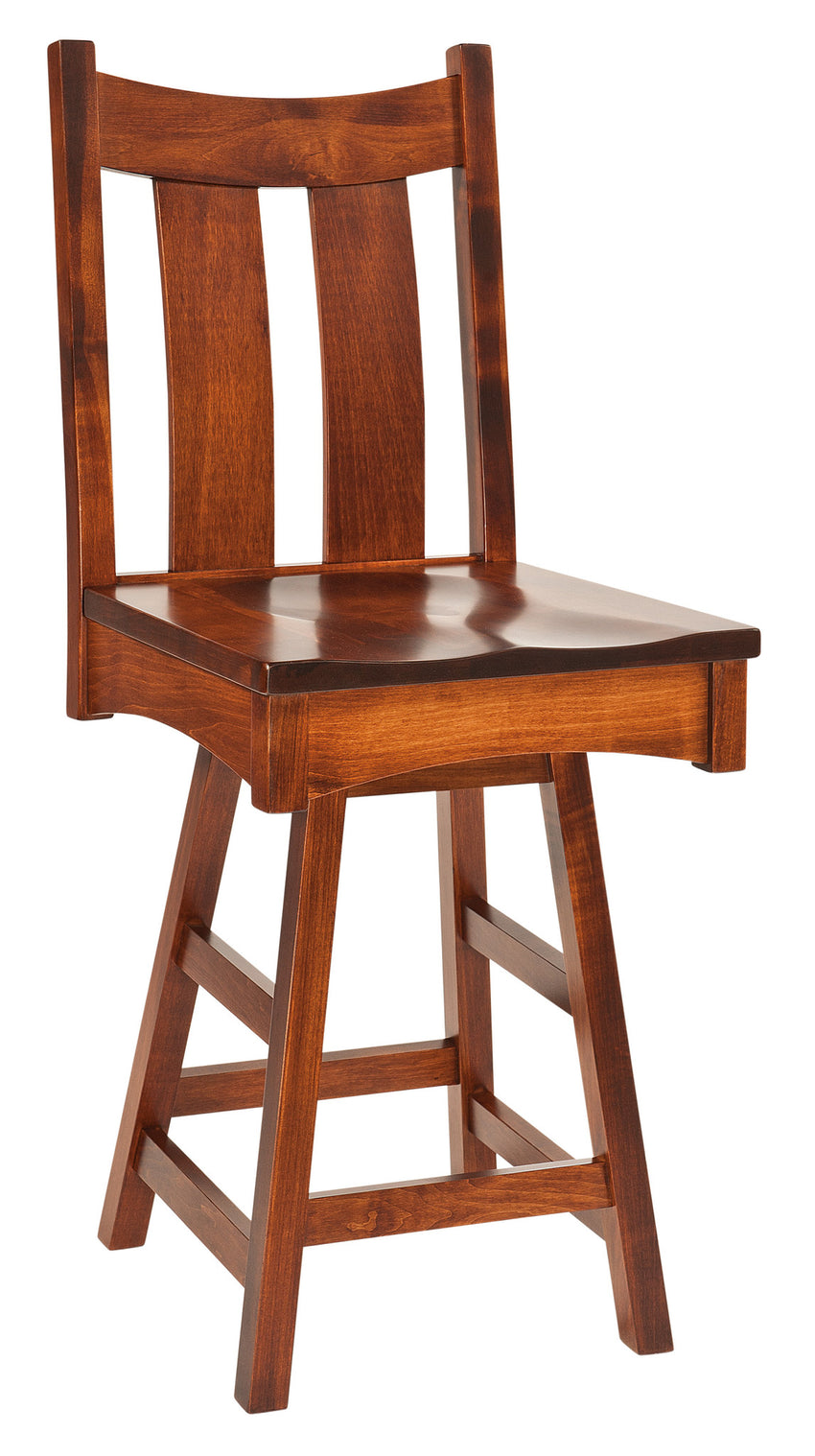 Country Shaker Swivel Barstool