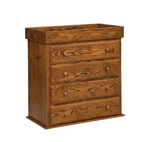 Reversible Changing Table/4 Drawer Dresser