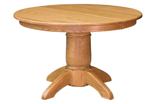 Tuscan Single Pedestal Table (NW)