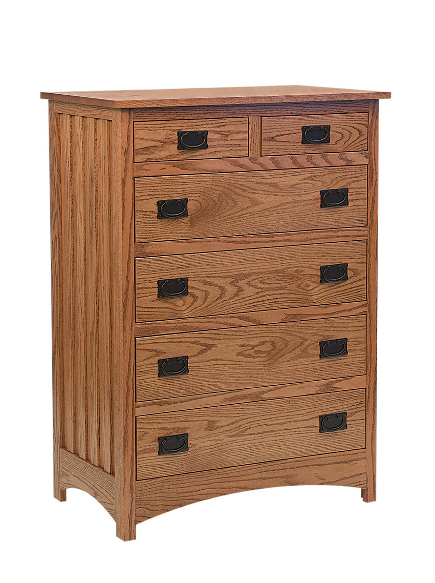 Schwartz Mission Chest of Drawers, 6 Drawers