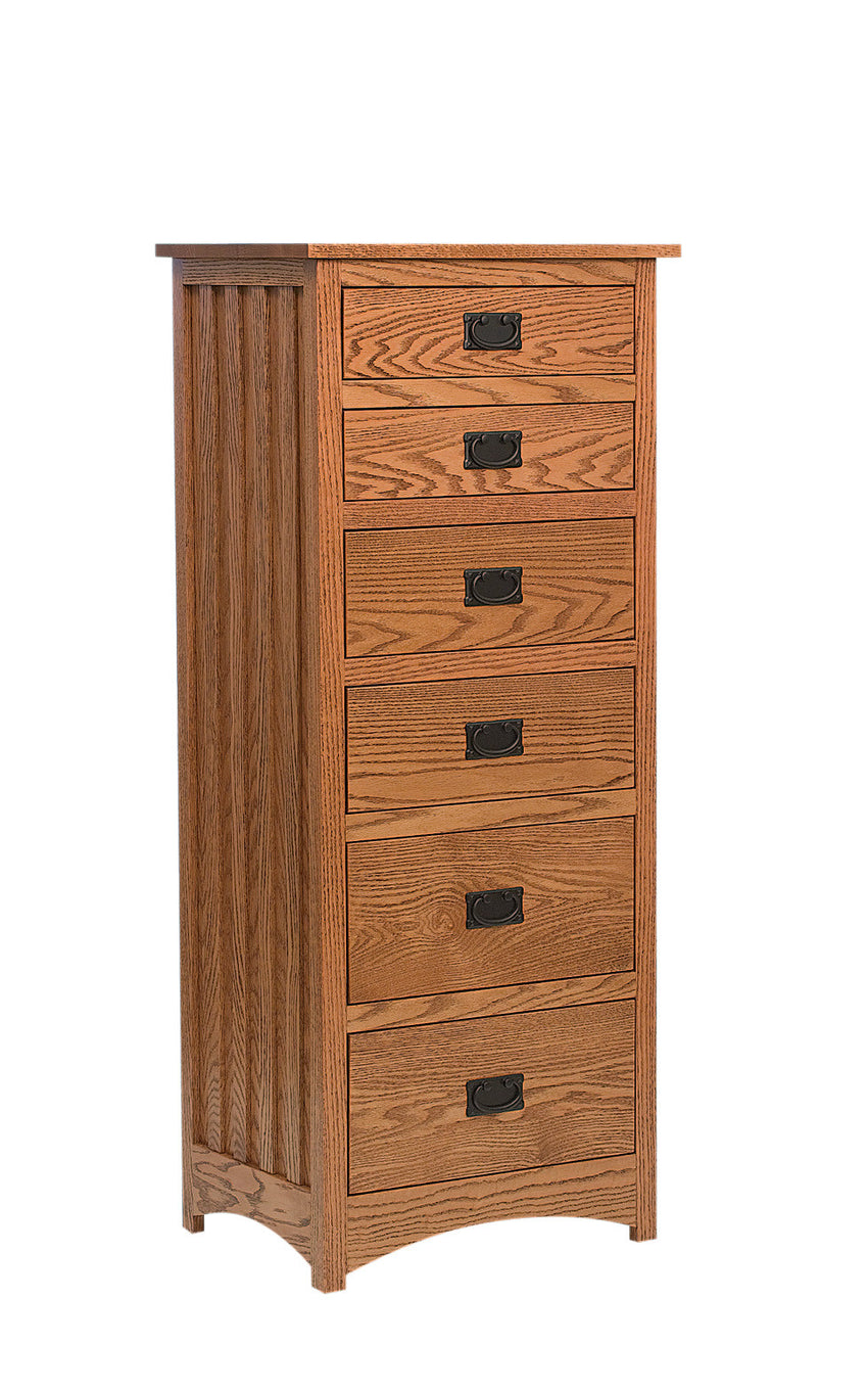 Schwartz Mission Lingerie Chest, 6 Drawers