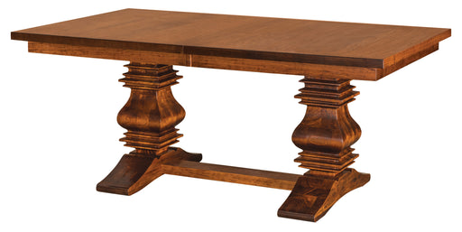 Scottville Double Pedestal Table (IH)