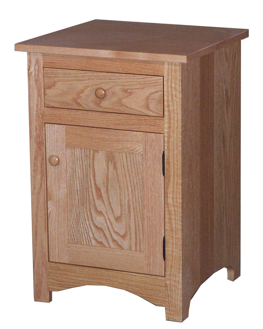 Shaker 1 Drawer 1 Door Nite Stand