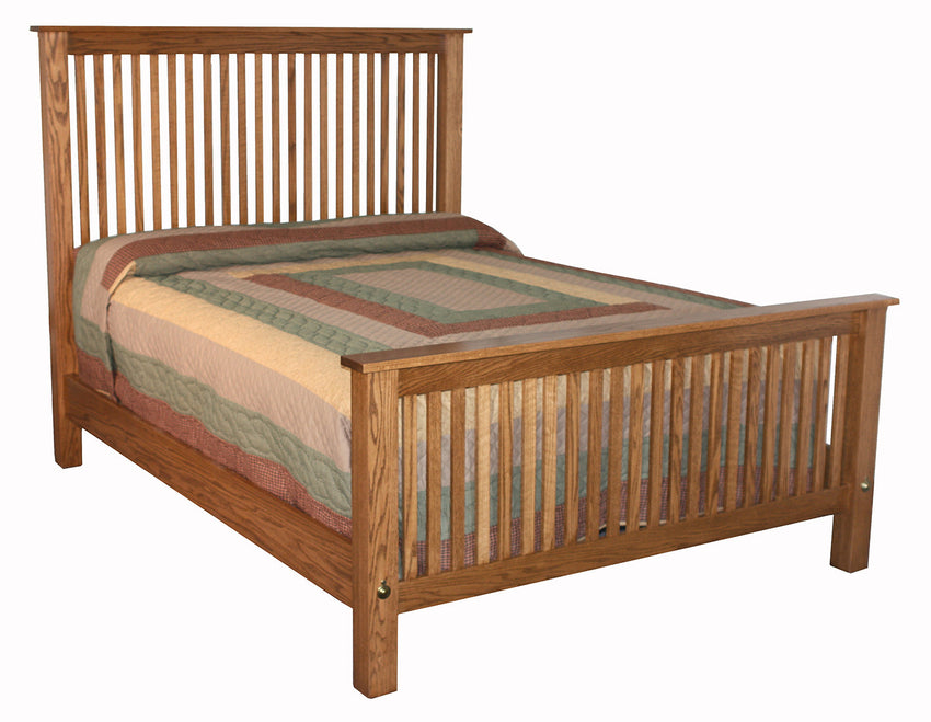 Slat Mission Bed (SCHR)