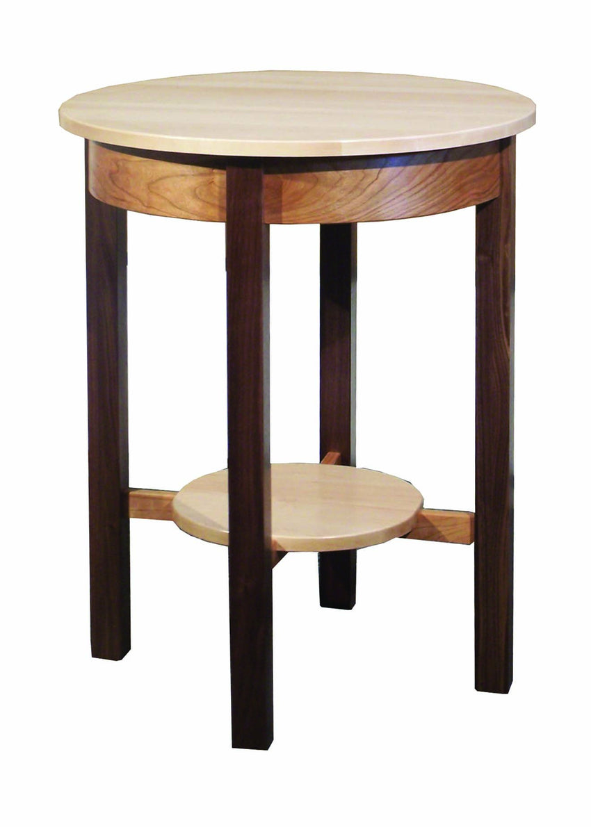 Tri-Wood Round Table