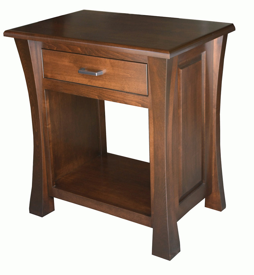 Vandalia 1 Drawer Open Nite Stand