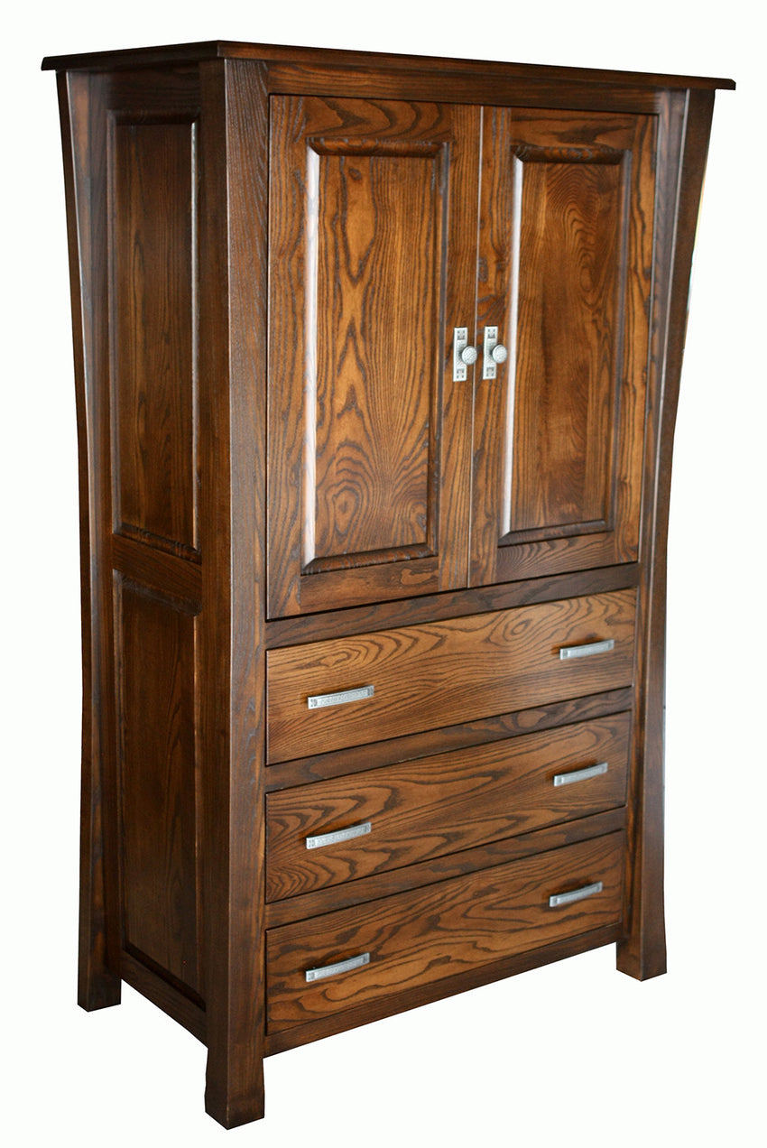 Vandalia 3 Drawer Armoire