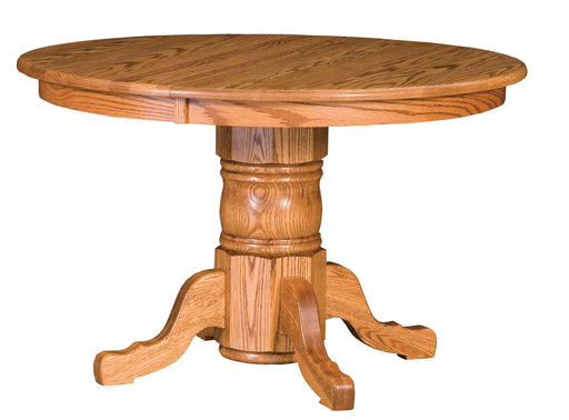 Traditional Single Pedestal Table (WP)
