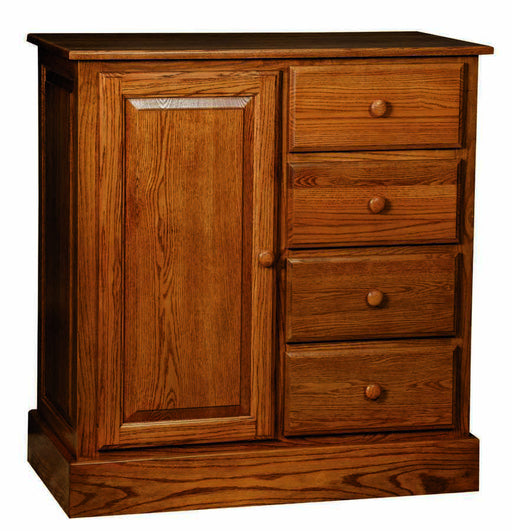 Reversible Changing Table/4 Drawer Dresser Wardrobe