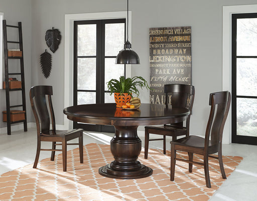 Zigler Pedestal Table
