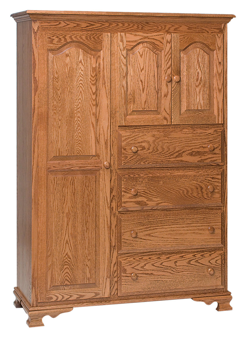 Heritage Chifferobe, 4 Drawers, 3 Doors