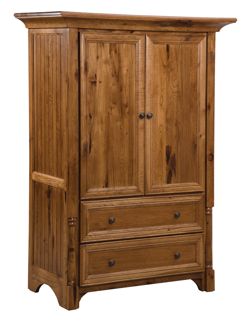 Palisade 1 pc. Armoire, 2 Drawer, 2 Door