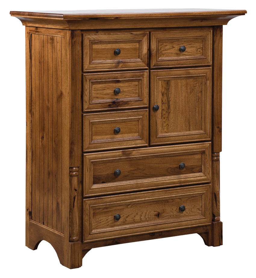Palisade Chest of Drawers, 6 Drawer, 1 Door