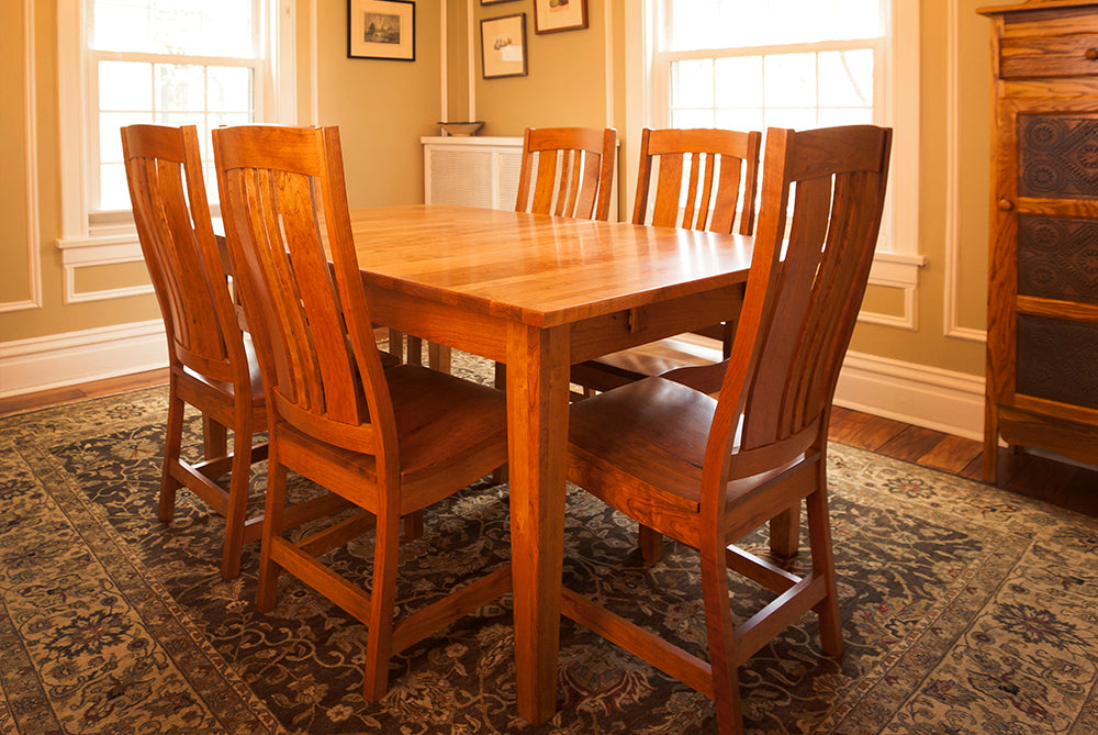 Dining Room - Plain And Simple Amish Furniture Chicago, IL Custom Wood