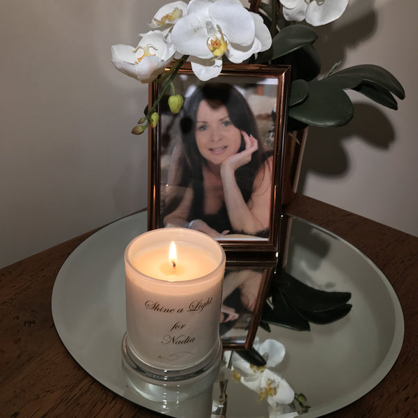 Remembrance Candle for Nadia