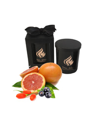 Goji Berry & Tarocco Orange Scented Soy Candle | Oxford Collection