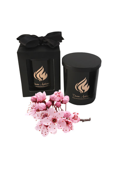 Japanese Cherry Blossom Scented Soy Candle | Oxford Collection